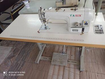 электро швейная машинка в Кыргызстан: Машинка Ясин  Прямой строчка Без звук Состояние хорошее