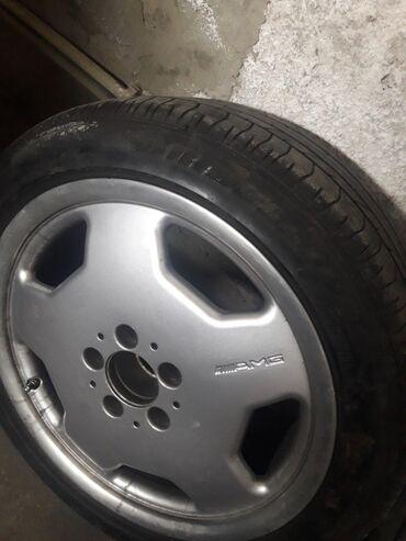 Срочно Продаю диск AMG (запаска )одинR17 оригинал без трещин и варок