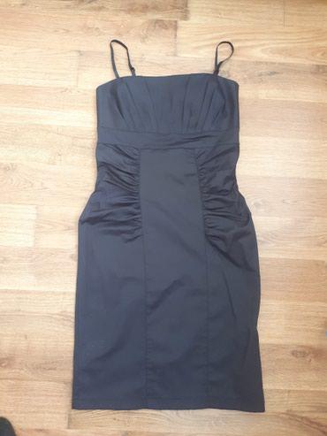 платье футляр большого размера в Кыргызстан: Платье футляр синего цвета. Подчеркивает фигуру. Лямки сьемные