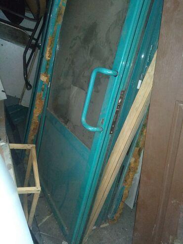 Алюминиевые двери 5 шт в комплекте коробка и замки KALE