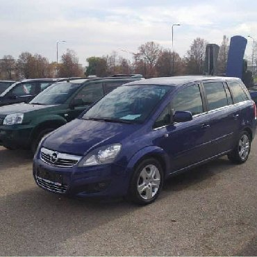 тюнинг опель зафира турер в Кыргызстан: Opel Zafira 2009