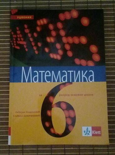 Izdavanje - Srbija: Matematika, udžbenik za VI razred, N. Ikodinović i S. Dimitrijević