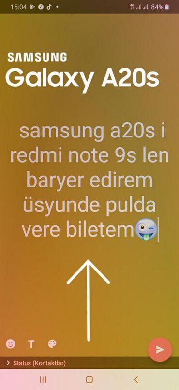 Samsung not 5 - Azərbaycan: İşlənmiş Samsung A20s 32 GB göy