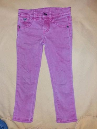 Benetton-farmerice - Srbija: Benetton skinny jeans 4/5god. Roze prelepe farmerice, bez ikakvog