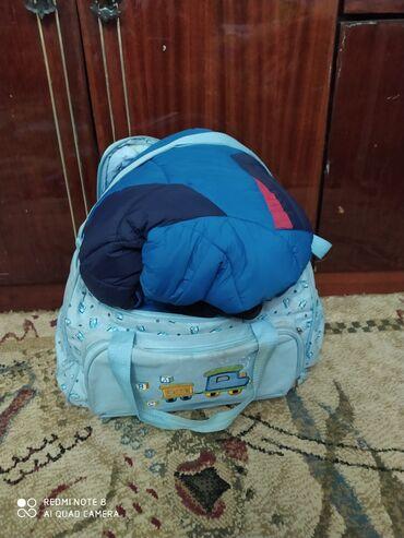 Большая сумка с детскими вещами. Для мальчика. На возврат от 1 до 4