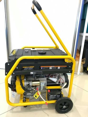 Işıq generatoru - Azərbaycan: Generator Dawer 9500E9.9KVA benzinAçarla işə salınır220Vİlkin