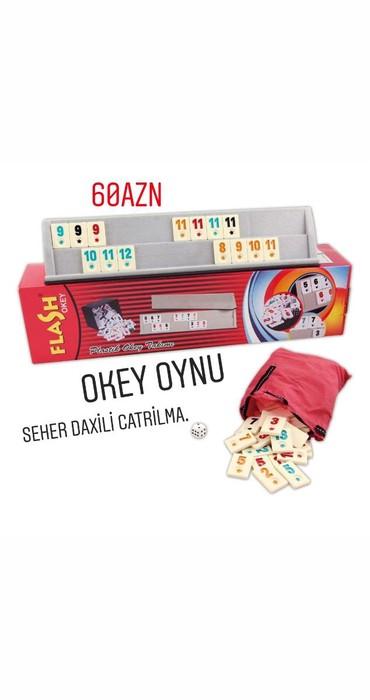 okey - Azərbaycan: Okey oyunu seher daxili catrilma