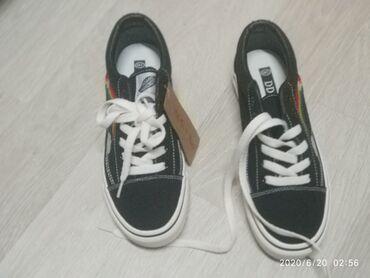 Женская обувь в Кант: Новые женские кеды,38 размер,брали в Китае не подошёл размер