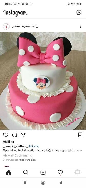 Hər dekorda tort sifarişi qəbul olunur