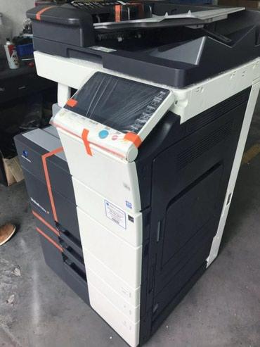 МФУ Konica Minolta C554e цветной лазерный принтер сканер копир в Бишкек