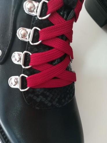 Savršene nove broj 38 sa crvenim i crnim pertlama - Batajnica - slika 8