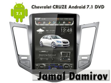 Bakı şəhərində Chevtolet cruze üçün android 7 dvd-monitor. Android 7