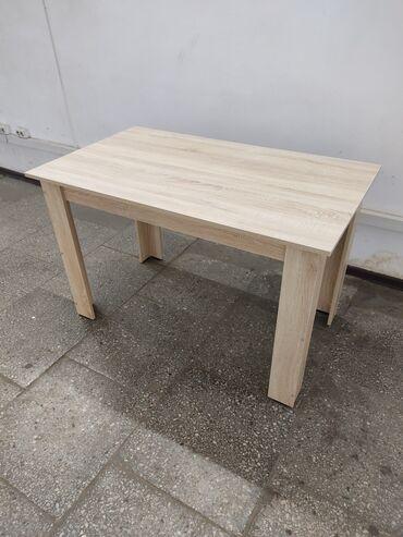 Стол офисный/кухонный 120х70х75 дуб сонома