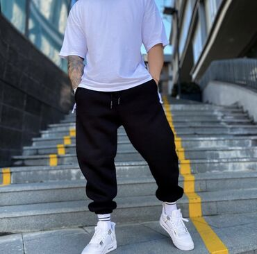 женские карго брюки в Азербайджан: Yeni Overize Jogger   Material : 70% Pambıq 30% Polyester İstehsalçı