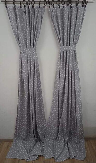 Ostalo - Lazarevac: Jednobojni draperi i sa zvezdama po 1700 dinvelicina 2x140 sirina,230