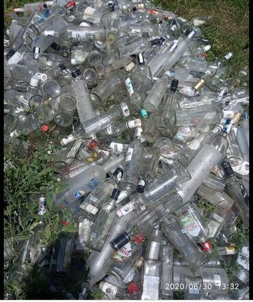 бу стекла в Кыргызстан: Прием стеклотары.стеклянный бутылок и банок стеклобой,битое,бутылка