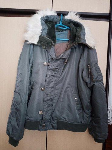 Unisex jakna sa krznom,malo upotrebljena