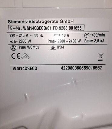 Siemens a52 - Srbija: Mašina za pranje