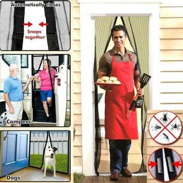 Ostalo za kuću   Prokuplje: Magična mreža za vrata protiv komaraca i muvaSamo 950 dinara.Porucite