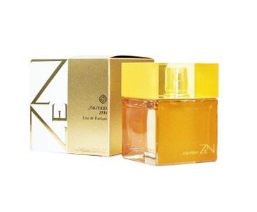 Bakı şəhərində Shiseido Zen Eau De Parfum for Women ətrinin dubay versiyası.