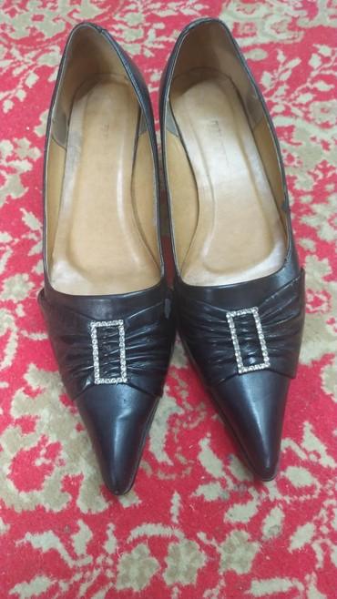 черные-женские-туфли в Кыргызстан: Туфли, 41 размер, идеальное состояние