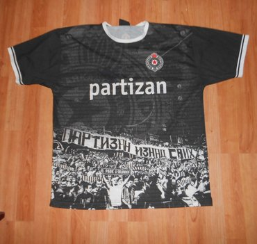 "Majica Partizan -""Partizan iznad svih"" KK - Belgrade"