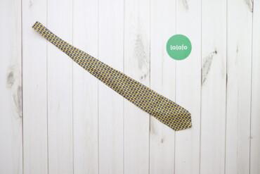 Аксессуары - Украина: Чоловіча стильна краватка House of Fraser    Колір: жовтий Довжина: 13