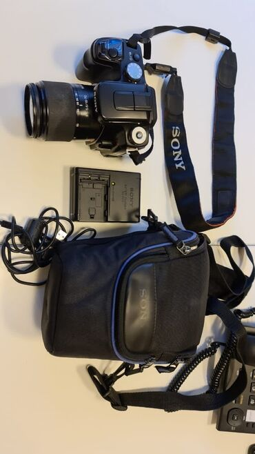 сенсорный фотоаппарат в Азербайджан: Sony Alpha DSLR A 100 haqqında qısa məlumat:Sony Alpha DSLR A 100
