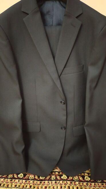 чёрные зауженные джинсы мужские в Кыргызстан: Новый мужской костюм размер 48 торг уместен
