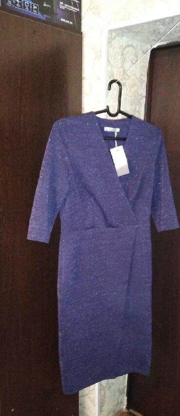 Новое платье ткань турецкое, можно для кормящих мам 50 размера в Бишкек