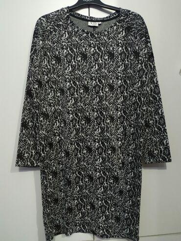 Платье трикотажное в отличном состоянии размер 46-48 пр Италия