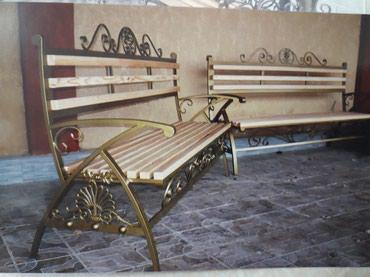 Сварочные работы! Скамейки на заказ! в Бишкек