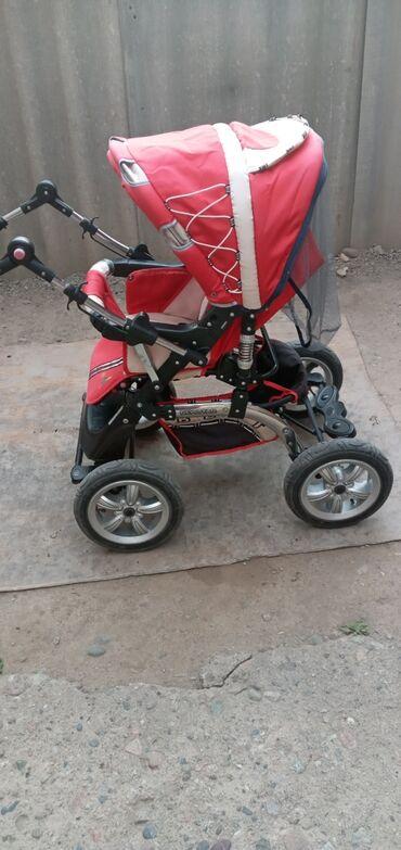 Продаю коляску б/у в хорошем состоянии зима/лето,колёса резина,сумка