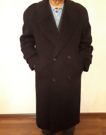 Мужское пальто (100% кашемир) размер: в Бишкек