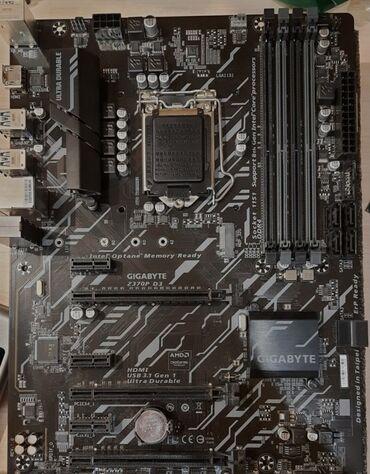 Gigabyte Z370P D3 s 1151 v2 4х ddr4 max 128 gb Продаю почти новую