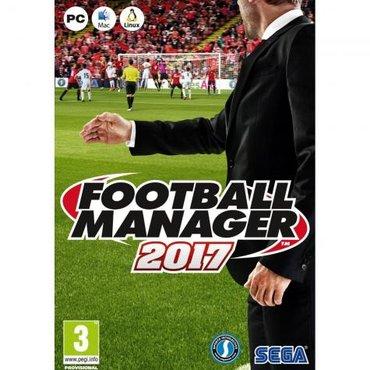 Sales manager - Srbija: Football manager 2017(igra je za pc racunar i lap-top)ukoliko zelite