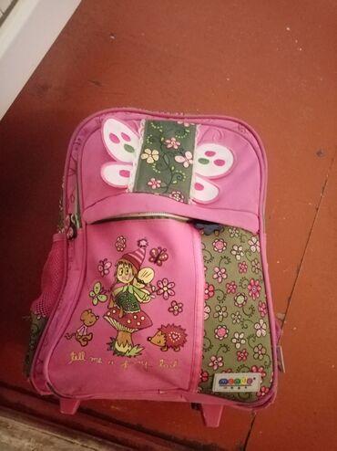 Məktəbli çanta təkərli az işlənib alan uduzmaz 45 manata alinib 9
