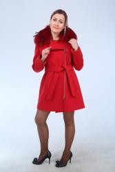 женский пальто в Кыргызстан: Женское пальто Турецкого производства ▪Ткань - Италия ▪Кашемир Мех - Ф