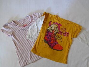 Majica sl - Srbija: Dve majičice za uzrast 3 godine (98). Za po kući, za igru i sl