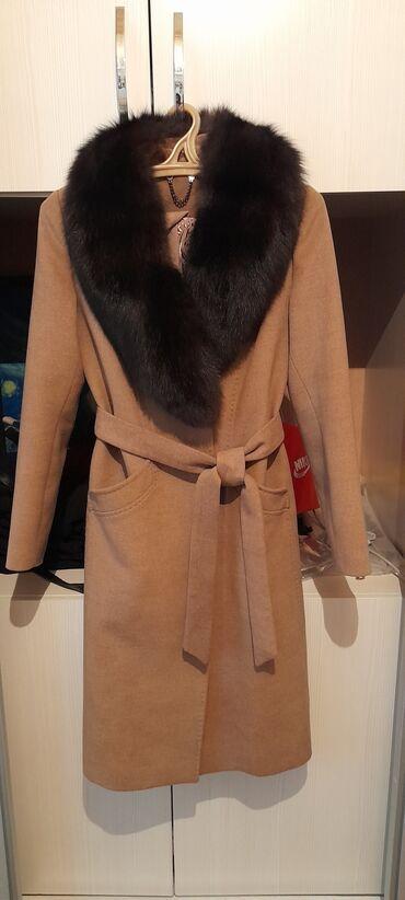 Шикарное классическое Зимнее кашемировое пальто,модель которого