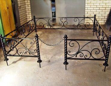 металлический шифер цена бишкек в Кыргызстан: Изготовление оградок, Изготовление крестов | Металл | Установка