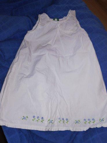 Cetiri majice - Srbija: Benetton haljinica, 24m . Sve cetiri za 2000rsd