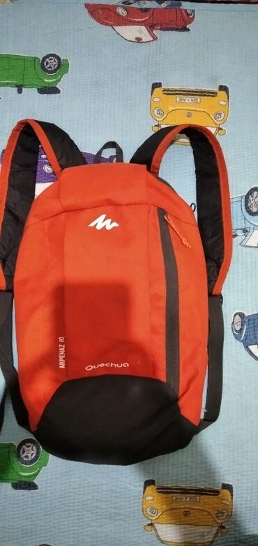 Рюкзак (оранжевый) состояние отличное