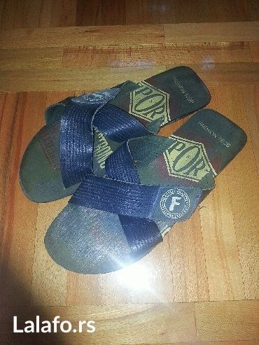 Muske kozne papuce u odlicnom stanju!! Broj 44 - Valjevo