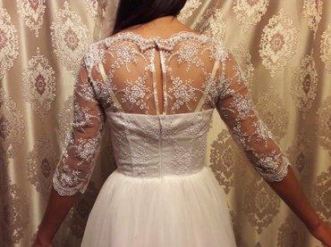 Продаю свадебное платье размер 42-44 в Бишкек