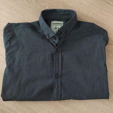 Рубашка с длинными рукавами!Приталенная! Состояние новое.Размер S, M