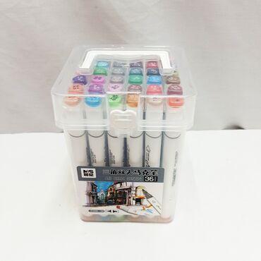 Комплект двухсторонних маркеров 36 штук - городская серия самого