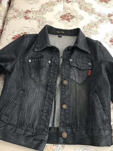 Джинсовая куртка размер s-m