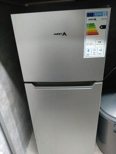 Электроника - Лебединовка: Б/у Двухкамерный | Серый холодильник Avest
