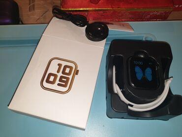 Продаю сенсорные блютуз смарт часы новые в коробочке модель Т500